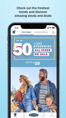 Old Navy: Fun, Fashion & Value 1